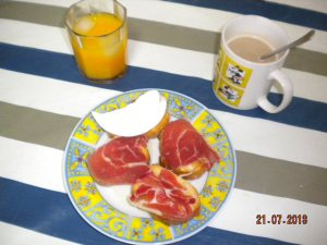 Desayuno mediterráneo