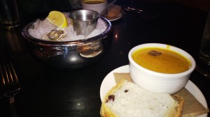Squash soup at Etta´s