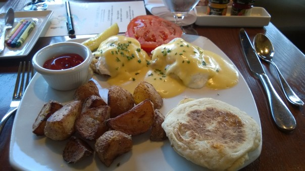 Eggs Benedict The Barking Frog