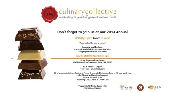 Culinary collective open house